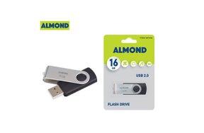 USB FLASH ALMOND TWISTER 16GB